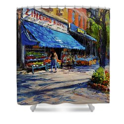 Summer Afternoon, Columbus Avenue Shower Curtain