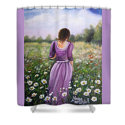 Summer Afternoon Shower Curtain by Vesna Martinjak