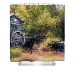 Summer At The Mill Shower Curtain