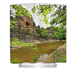Shower Curtain featuring the photograph Summer At The Pinnacles by Cricket Hackmann