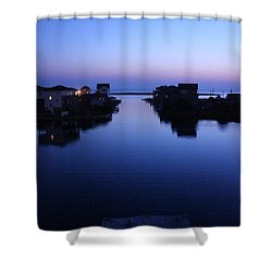 Summer Avon Evening Shower Curtain