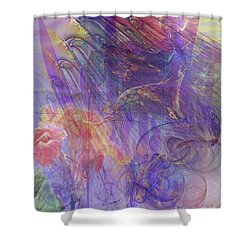 Summer Awakes Shower Curtain