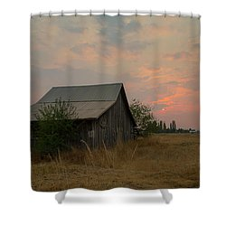 Summer Barn Shower Curtain