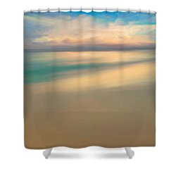 Summer Beach Day  Shower Curtain by Anthony Fishburne