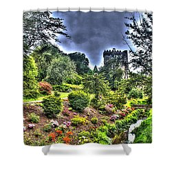 Summer Blarney Garden Shower Curtain