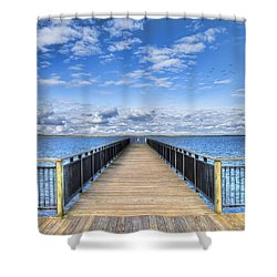 Summer Bliss Shower Curtain by Tammy Wetzel