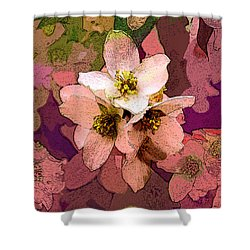 Summer Blossom Shower Curtain