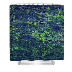 Summer Blue Serenity Shower Curtain