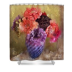 Summer Bouquet Shower Curtain by Alexis Rotella