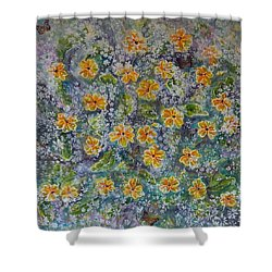 Spring Bouquet Shower Curtain