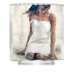 Summer Breeze Shower Curtain by Gun Legler