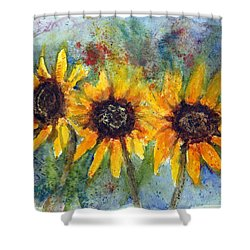 Summer Brilliance Shower Curtain