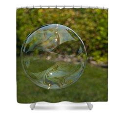 Summer Bubble Shower Curtain