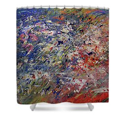 Summer Celebrations Shower Curtain