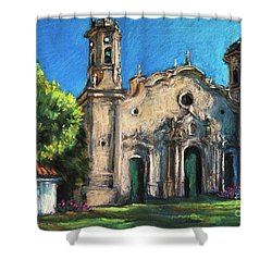 Summer Church Shower Curtain
