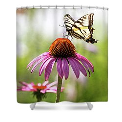 Shower Curtain featuring the photograph Summer Colors by Everet Regal