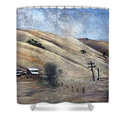 Summer Comes Early Shower Curtain