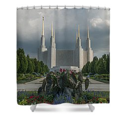Summer Day At The Lds Shower Curtain