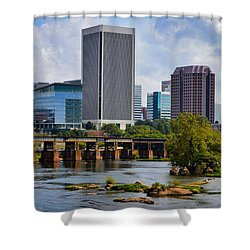 Summer Day In Rva Shower Curtain