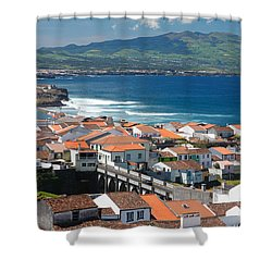 Summer Day In Sao Miguel Shower Curtain by Gaspar Avila