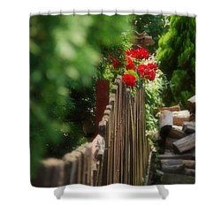 Shower Curtain featuring the photograph Summer Day... by Marija Djedovic