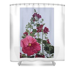 Summer Dolls Shower Curtain
