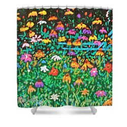 Summer Dreaming Shower Curtain