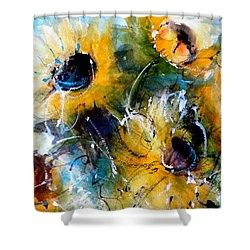 Summer Dreams Shower Curtain by Sandra Strohschein