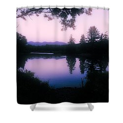 Summer Evening In New Hampshire Shower Curtain