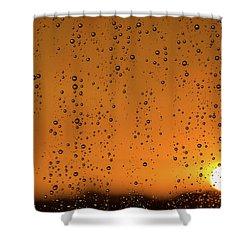 Summer Evening Shower Curtain