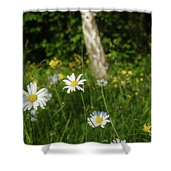 Shower Curtain featuring the photograph Summer Feeling by Kennerth and Birgitta Kullman