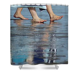 Summer Feet   #1 Shower Curtain