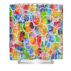 Summer Fling Shower Curtain