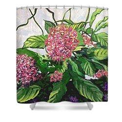 Summer Flowers 2 Shower Curtain