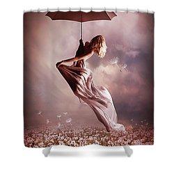 Summer Fly Shower Curtain