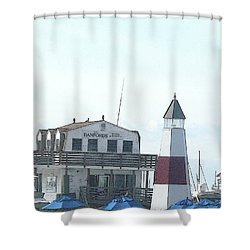 Summer Getaway Shower Curtain