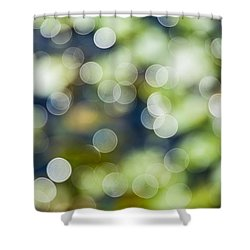 Summer Glitter Shower Curtain