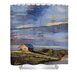 Summer Glow Shower Curtain by Trina Teele