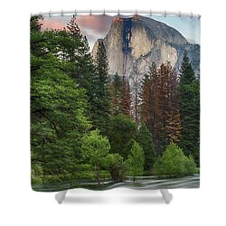 Summer Half Dome  Shower Curtain