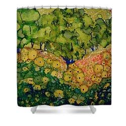 Summer Hills Shower Curtain