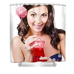 Summer Holidays Shower Curtain by Jorgo Photography - Wall Art Gallery