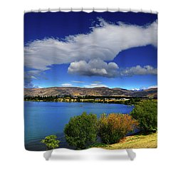 Summer In Central Shower Curtain