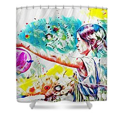 Summer In China Shower Curtain