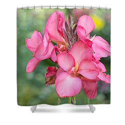 Shower Curtain featuring the photograph Summer In Color  by Julie Andel