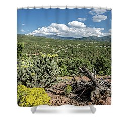 Summer In Santa Fe Shower Curtain