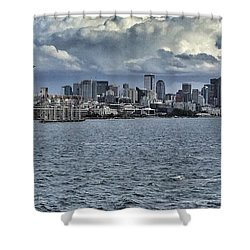 Summer In Seattle Shower Curtain