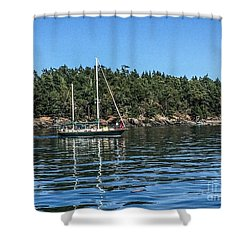 Summer In The San Juan's Shower Curtain by William Wyckoff