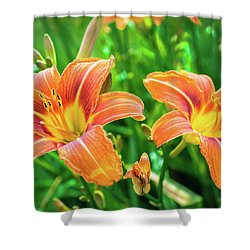 Shower Curtain featuring the photograph Summer Jubilation by Bill Pevlor