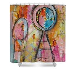 Summer Shower Curtain by Karin Husty