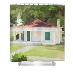 Summer Kitchen Shower Curtain